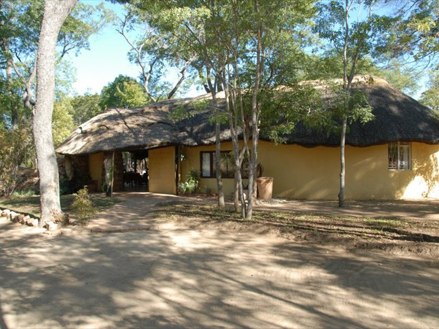 Miombo Safari Camp's reception area