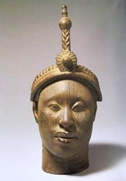 Sculpture of Ori Olokun,