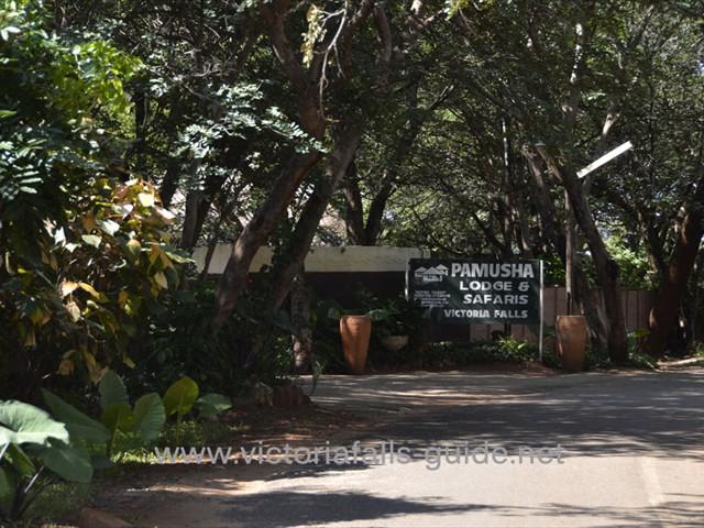 Entrance to Pamusha Lodge