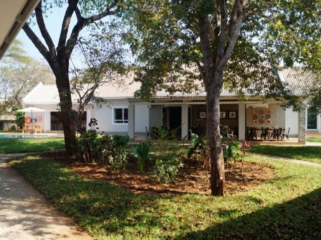 Phezulu Guest Lodge garden