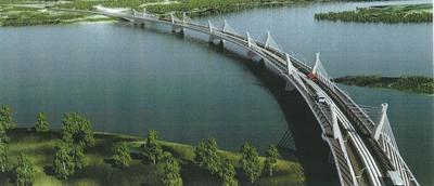 Plan of the Kazungula Bridge