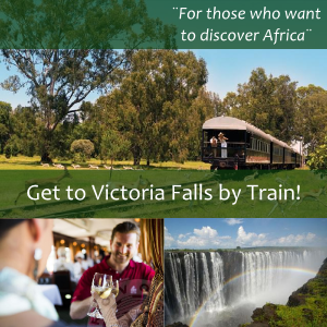 Get to the Victoria Falls by steam train on the oppulent Rovos Rail adventure