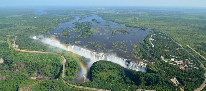 Victoria falls travel guide for Piscina del diablo