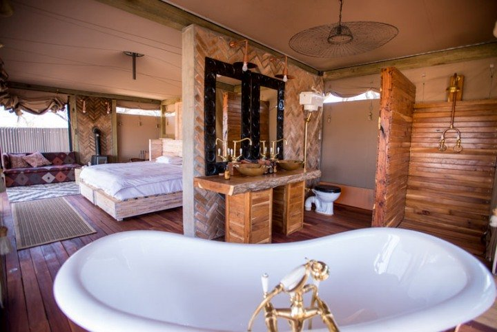 Beautiful and luxurious guest rooms