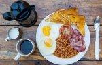 Hearty breakfast (not included)