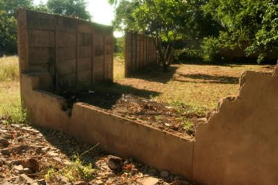 Broken down walls