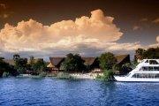 Luxury Zambezi River cruise on the Lady Livingstone
