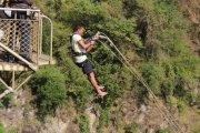Bridge swing  in Victoria Falls