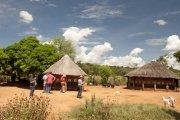 Tour of the Mukuni Village in Zambia, near Victoria Falls