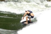 Riverboarding with rafting on the Zambezi River