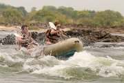 Upper Zambezi Canoe safari in Victoria Falls