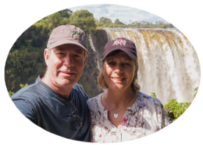 Tony and Boo of Victoria Falls Guide