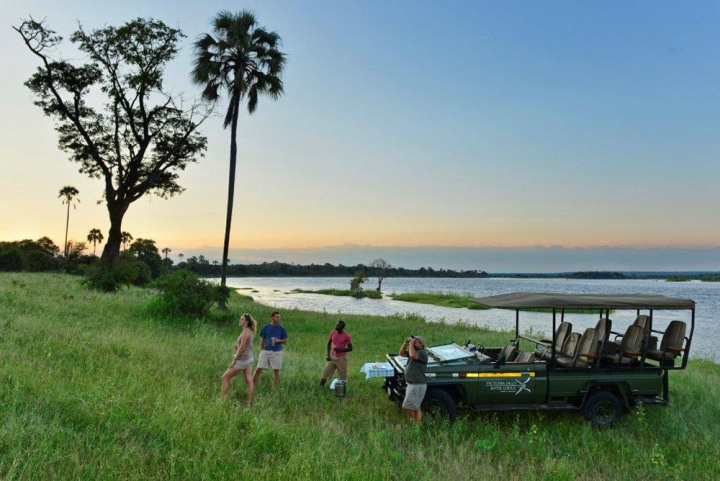Game viewing activities in Zambezi National Park