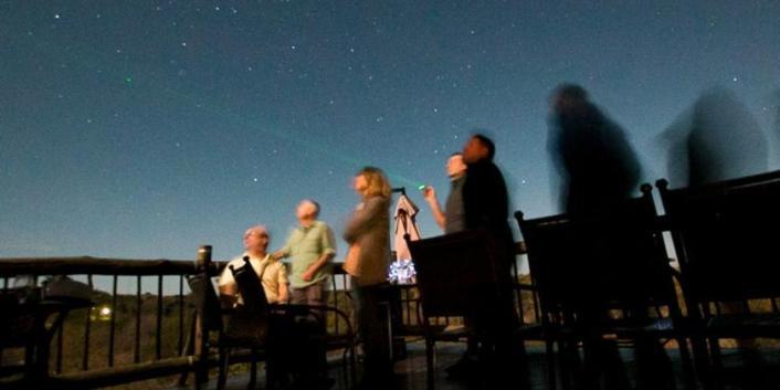 Exclusive activities like star gazing
