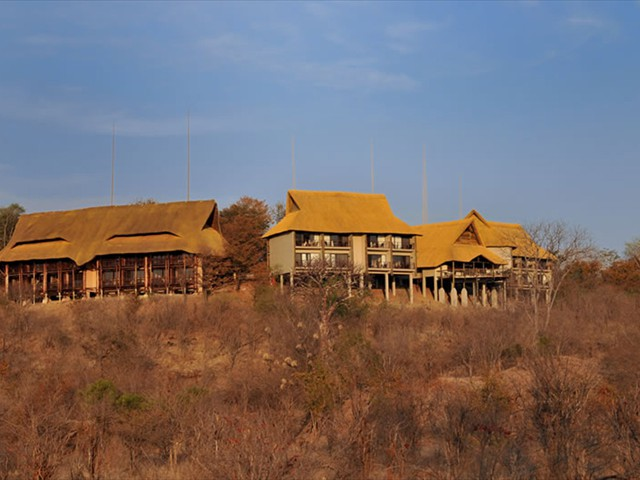 Victoria Falls Safari Club complex