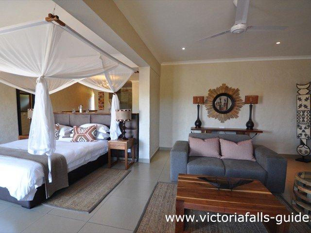 Vic Falls Safari Club suite