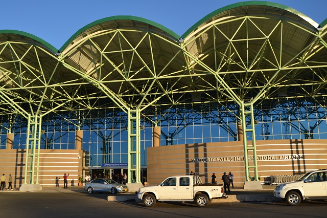 Victoria Falls international airport, Zimbabwe