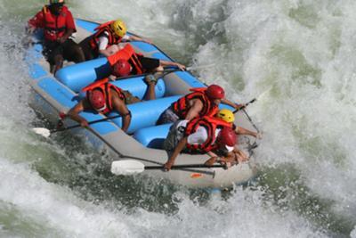 Zambezi White Water Rafting