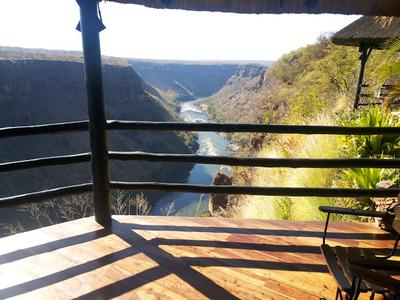 View from Gorges Lodge