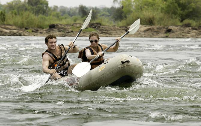 Mildly paddle the upper Zambezi