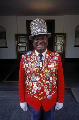 Doorman at Victoria Falls Hotel