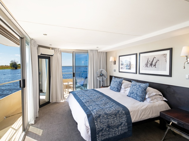 Beautiful rooms with beautiful views
