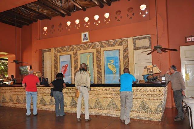 Reception at Avani