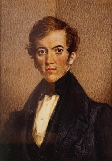 Portrait of a young David Livingstone