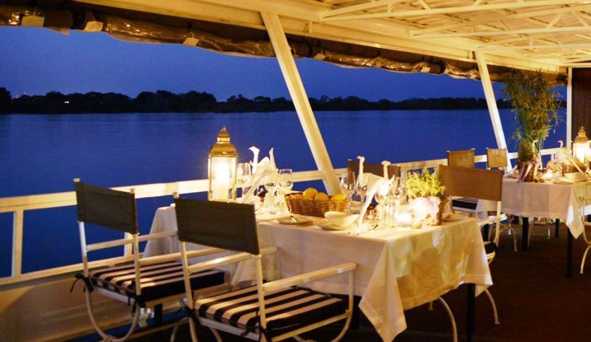 Cruise the Zambezi River in style