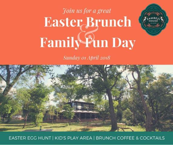 Easter Brunch at Zambezi House in Victoria Falls, Zimbabwe