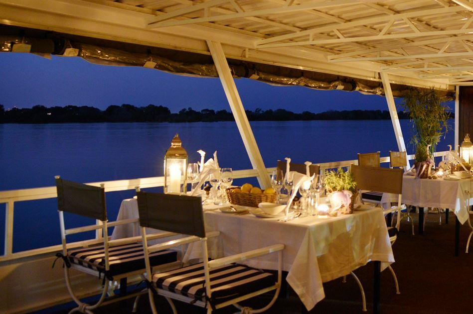 Zambezi Explorer Luxurious Cruise On The Zambezi River