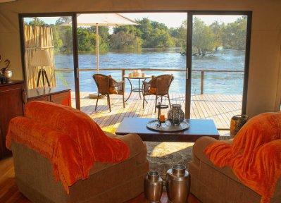 Zambezi Sands room, Victoria Falls