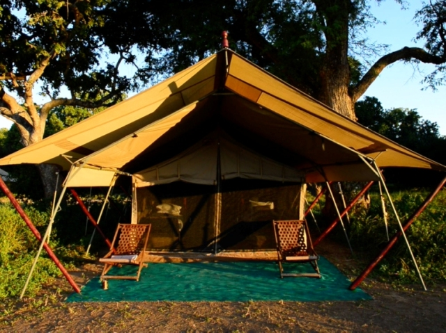 The twin bedded tents