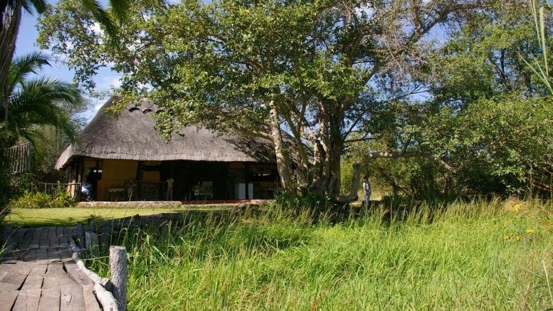 Walkway to the main communal area - Zambezi Lodge for sale in Zambia