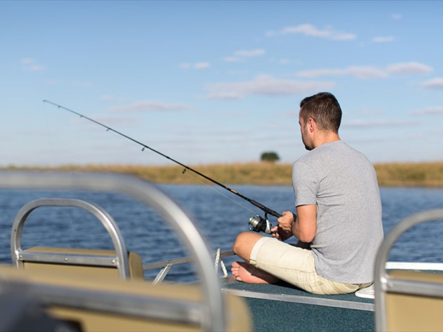 Fishing on the Chobe River