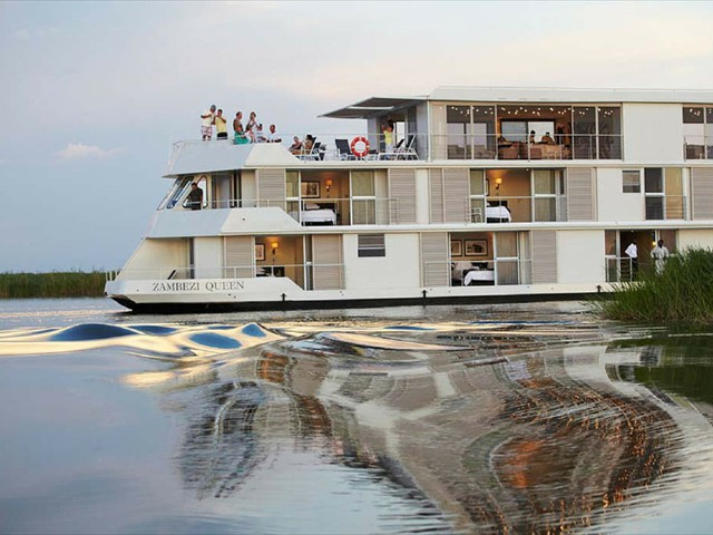 The Zambezi Queen Houseboat