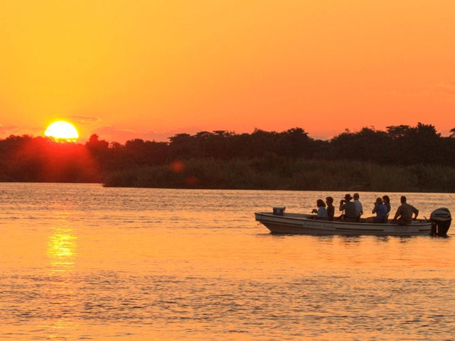 River cruises at Zambezi Sands near Victoria Falls, Zimbabwe