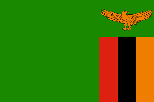 Zambia flag a symbol of zambias history flag of zambia sciox Choice Image