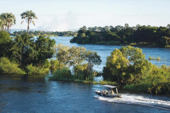 Ultimate River Safari on the Zambezi River near Victoria Falls