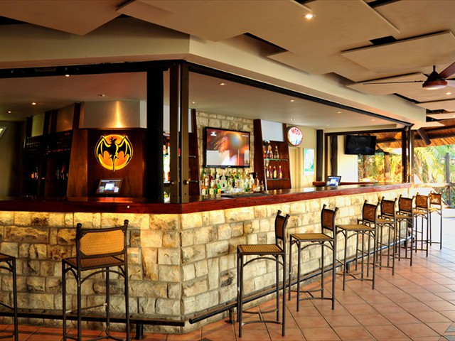 The main lodge's bar