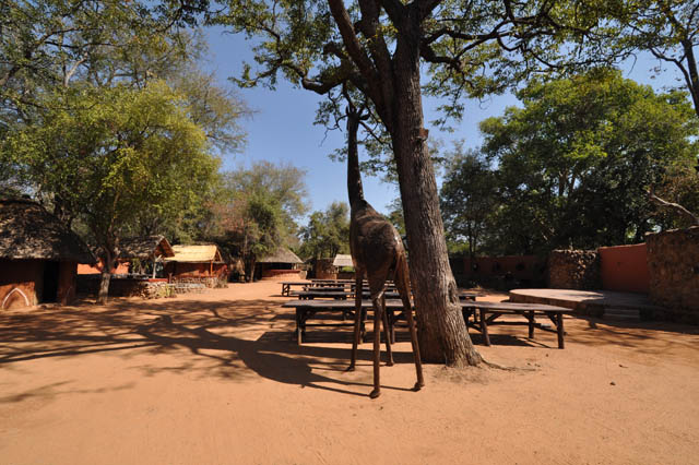 The Boma traditional restaurant