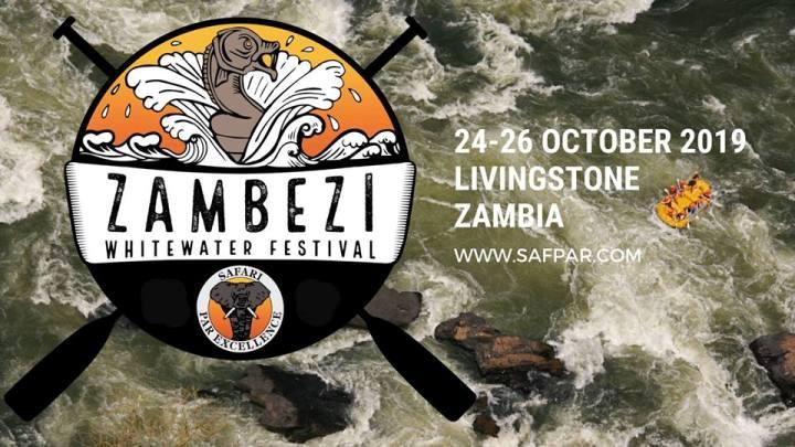Zambezi Whitewater Festival 2019. World class rafting competition, Victoria Falls